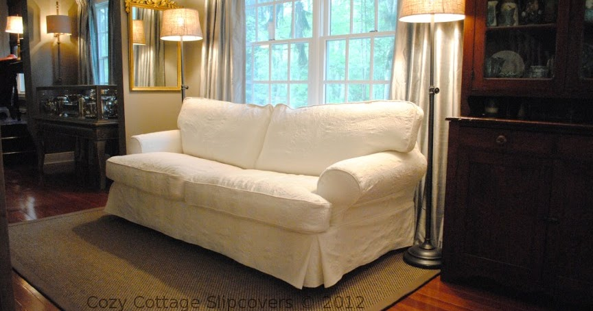 Cottage Style Sofa Bed With Air Dream Mattress Cozy Slipcovers: Matelasse Slipcovers