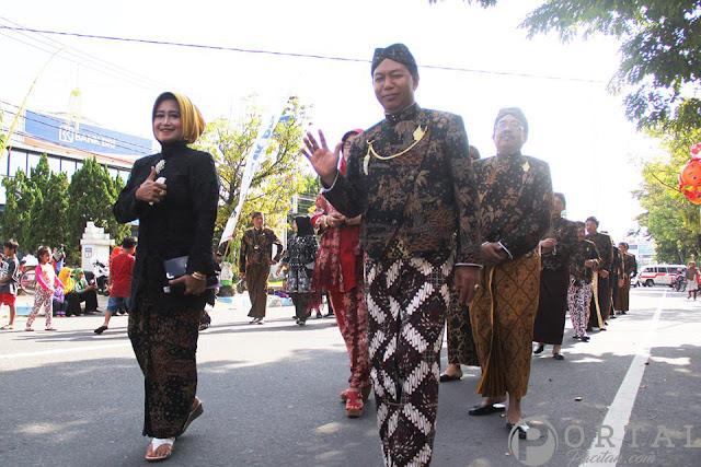 Gallery Prosesi Kirab Perayaan Hari Jadi Pacitan Ke-272