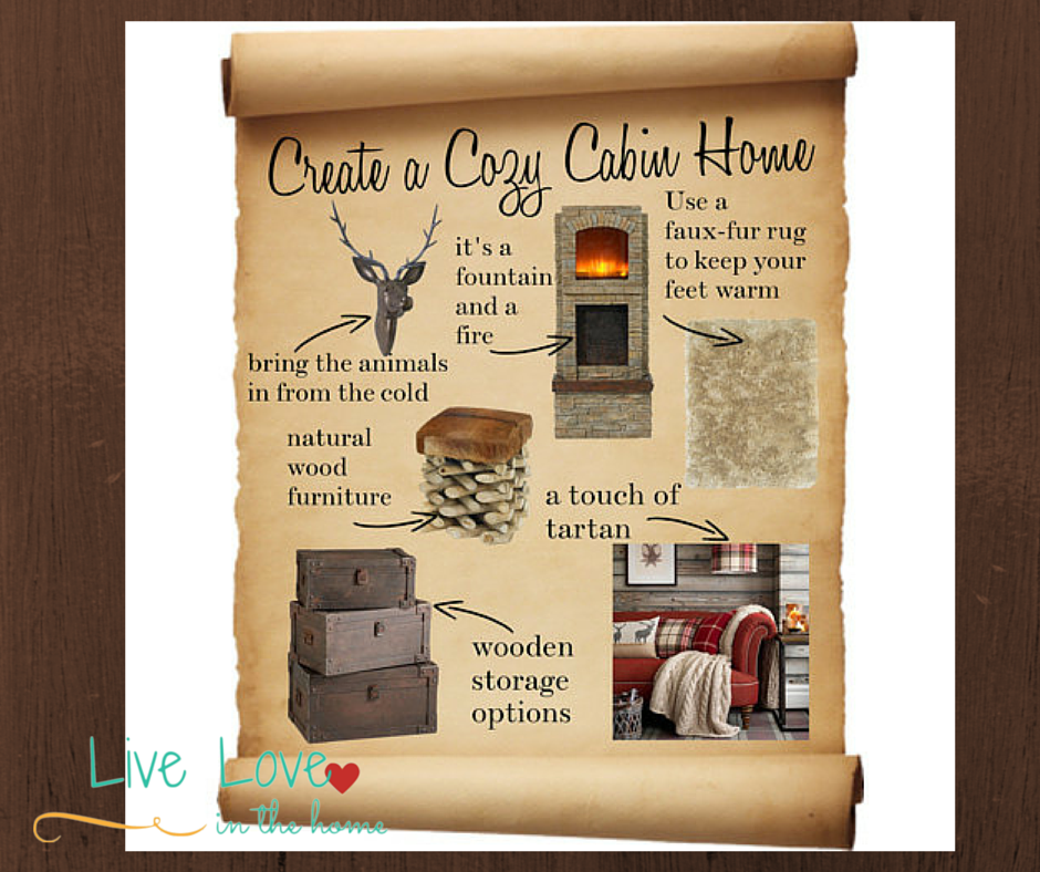 Create a Cozy Cabin Home | Live Love in the Home