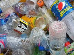 60% of PETE used to make plastic water bottles