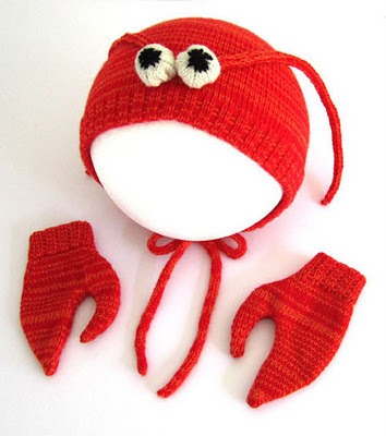 lobster mittens