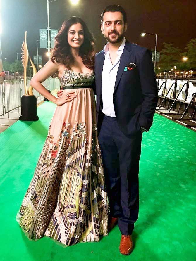 Bollywood Celebs Attend India International Film Awards (IIFA) Stomp Event at Times Square