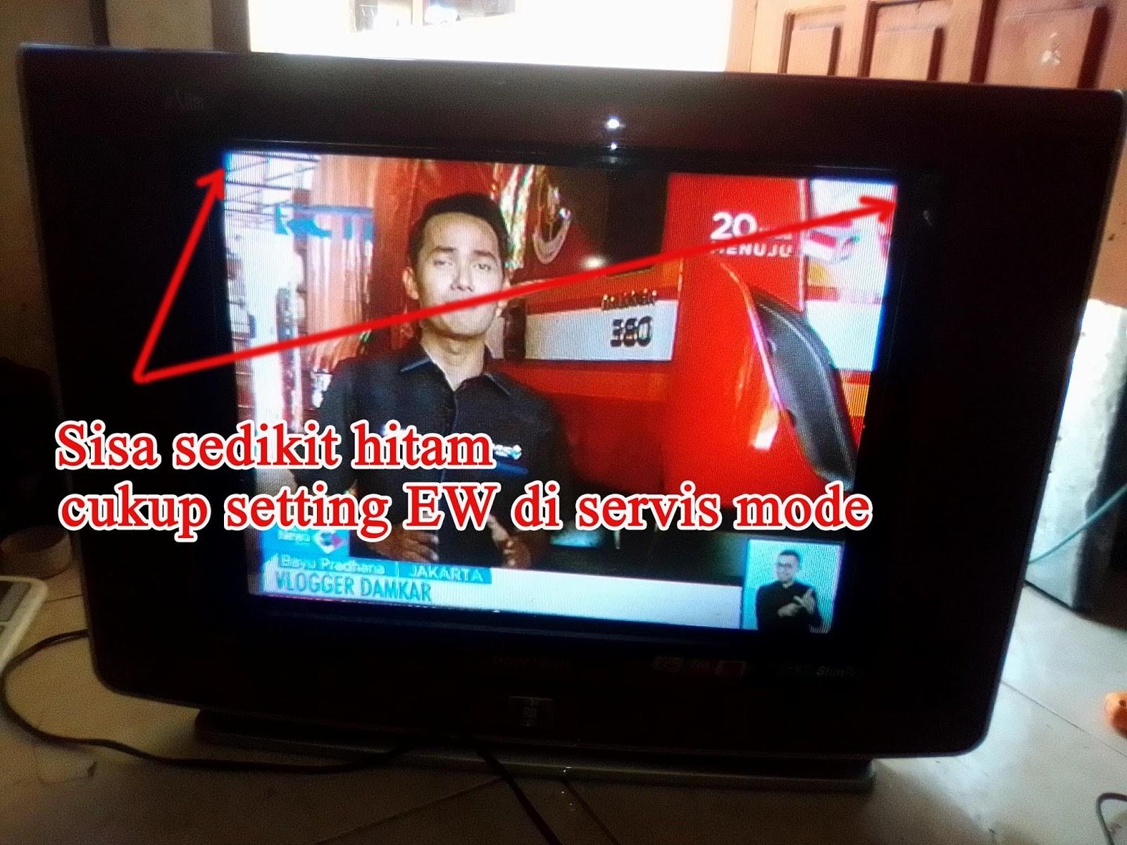 Tv Polytron U Slim Gambar Melebar Dan Melengkung Www Usahahobi Com
