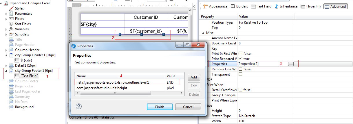 Tip : Excel Export Expand(+) and Collapse(-) for grouped ...