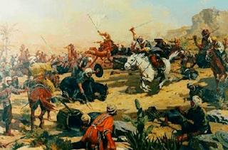 Batalla entre los árabes y los imazighen