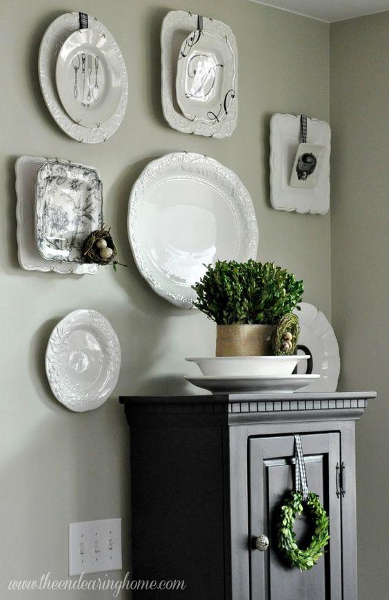Fadinha da arte eu decoro tu decoras que tal - Platos decorativos modernos ...