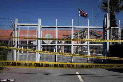 Cyprus british police bomb