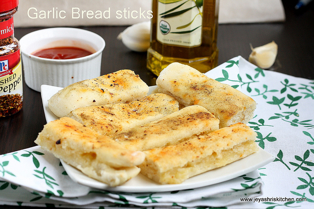 Garlic bread sticks