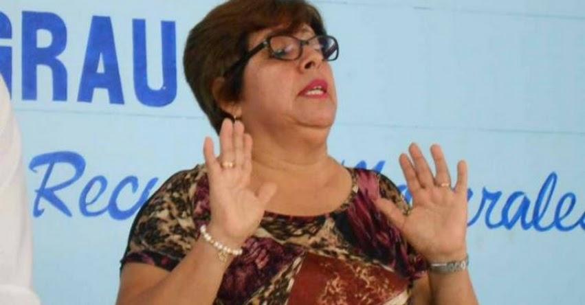 Matilde Chiroque, exdirectora de la UGEL Talara se entrega a la justicia - Piura