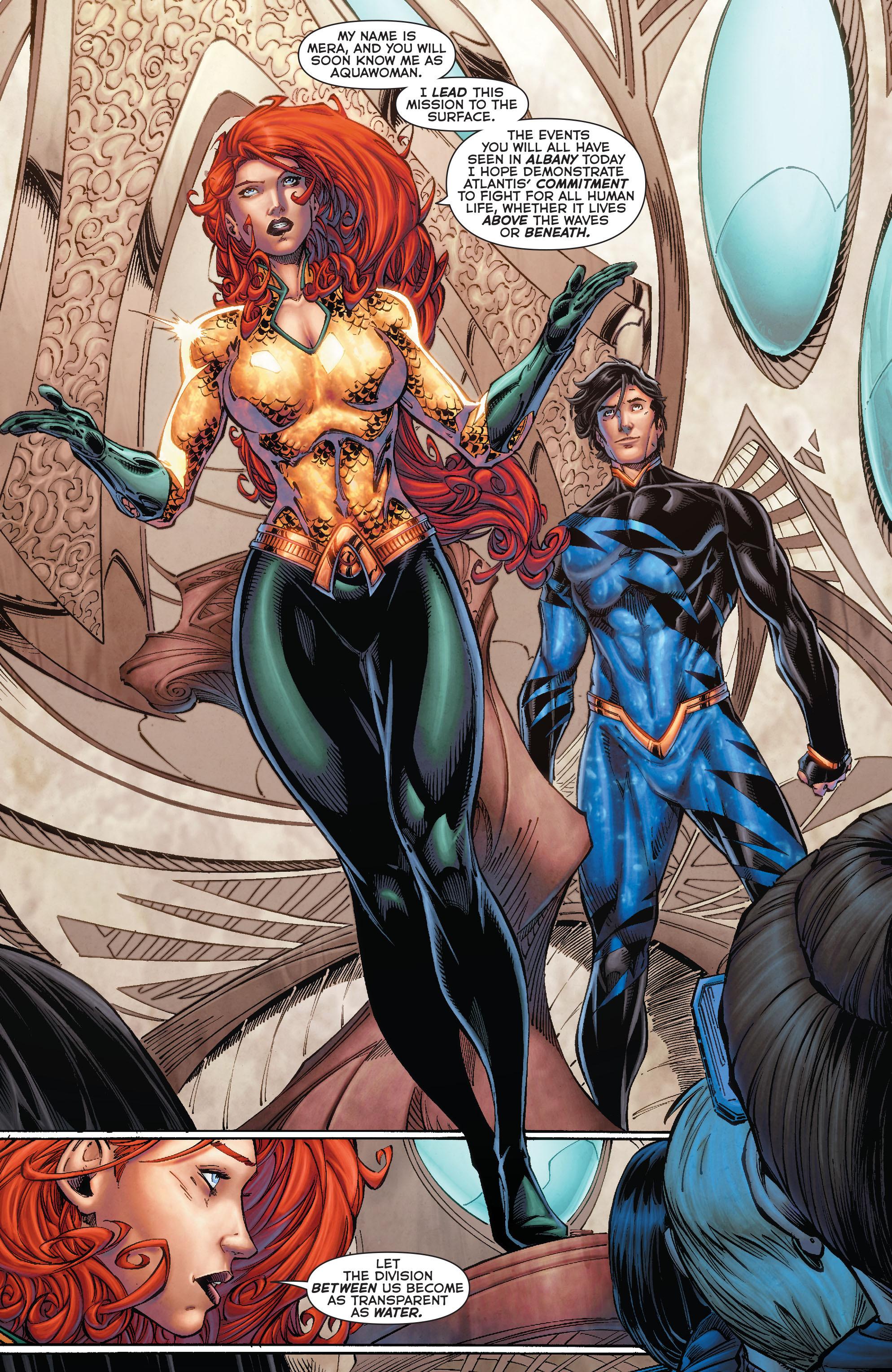 Read online Aquaman (2011) comic -  Issue #50 - 39