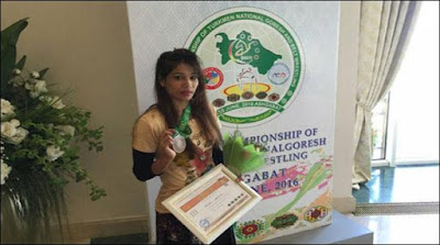 Asian Belt Wrestling Pakistani Sisters Wins 3 Medals