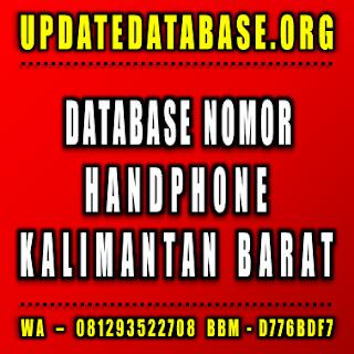 Jual Database Nomor Handphone Kalimantan Timur