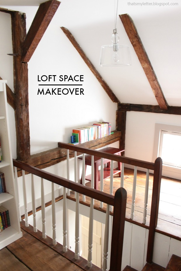 loft space makeover antique farmhouse