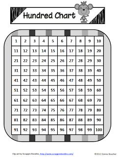 Classroom Freebies Too: Hundred Chart Patterns