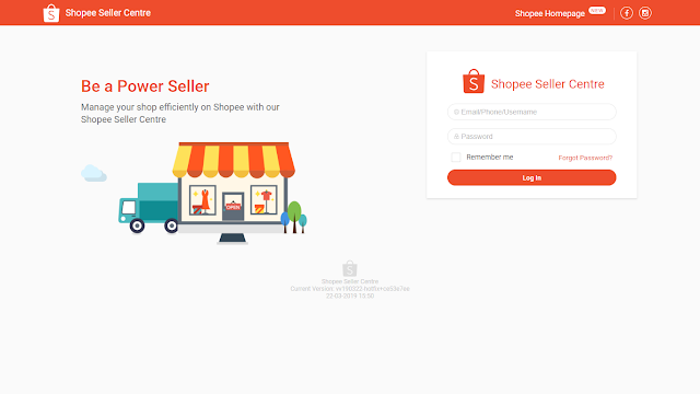 Be a Power Seller on Shopee