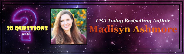 [20 Questions] MADISYN ASHMORE @madisynbooks