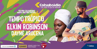 Tempo Tropico Daymé Arocena y Elkin Robinson…