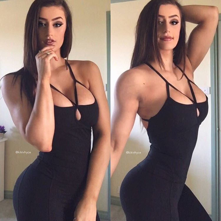 Australian fitness model Kiki Vhyce