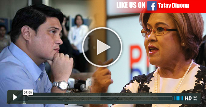 WATCH: Migz Zubiri Burst Anger to Leila De Lima Insulting Cayetano on Extra Judicial Killings