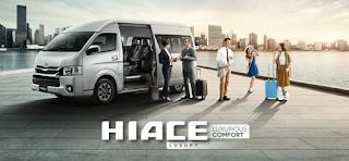Spesifikasi dan Harga Toyota HiAce 2018