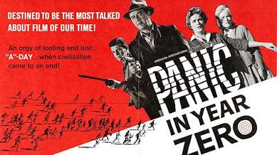 Panic in Year Zero (Pánico Infinito) / 1962 / Poster
