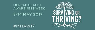 Mental Health Awareness Week 8-14 May 2017