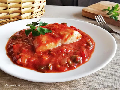 Bacalao con tomate receta tradicional