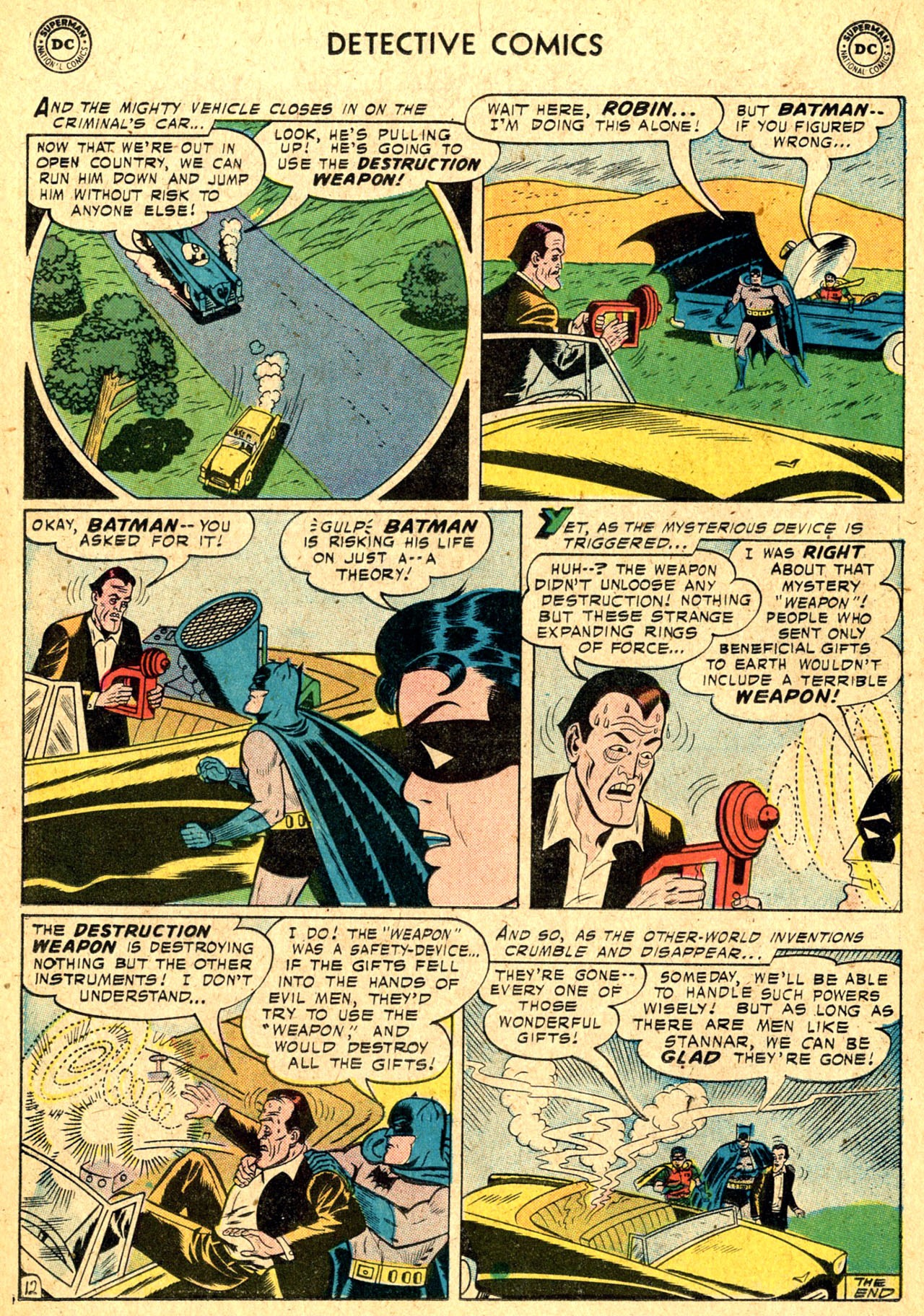 Read online Detective Comics (1937) comic -  Issue #250 - 14