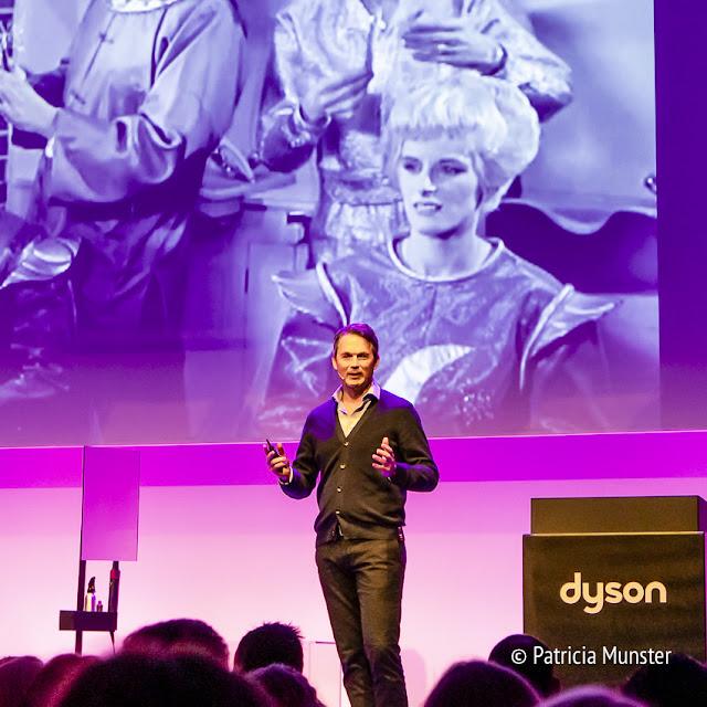 Dyson Airwrap presentation in Zuiveringshal Amsterdam