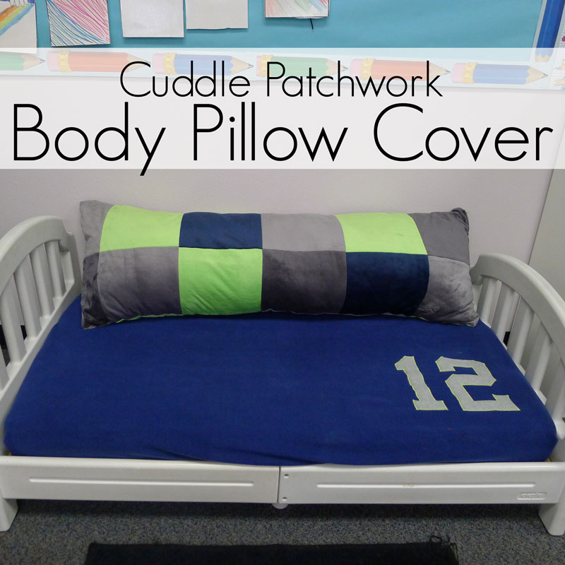 Pieces By Polly Cuddle Patchwork Body Pillow Cover Seahawks Patchwork Pillow