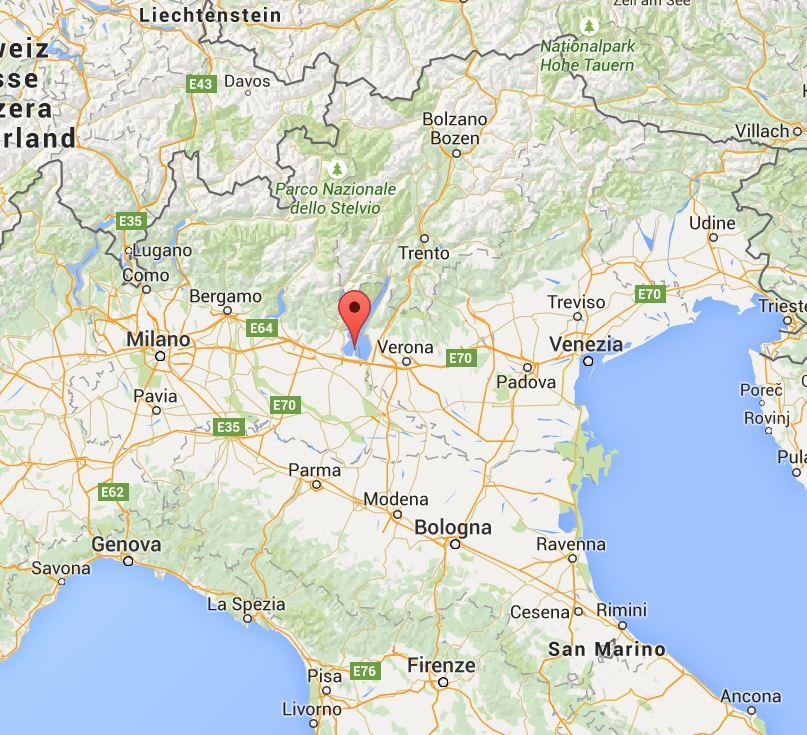 gardasjön karta CattasCanvas: Italien   Sirmione/Gardasjön gardasjön karta