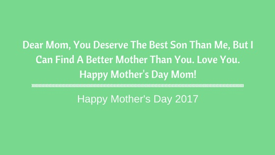 Happy Mothers Day 2019 | Emotional Mother's Day Quotes from SON
