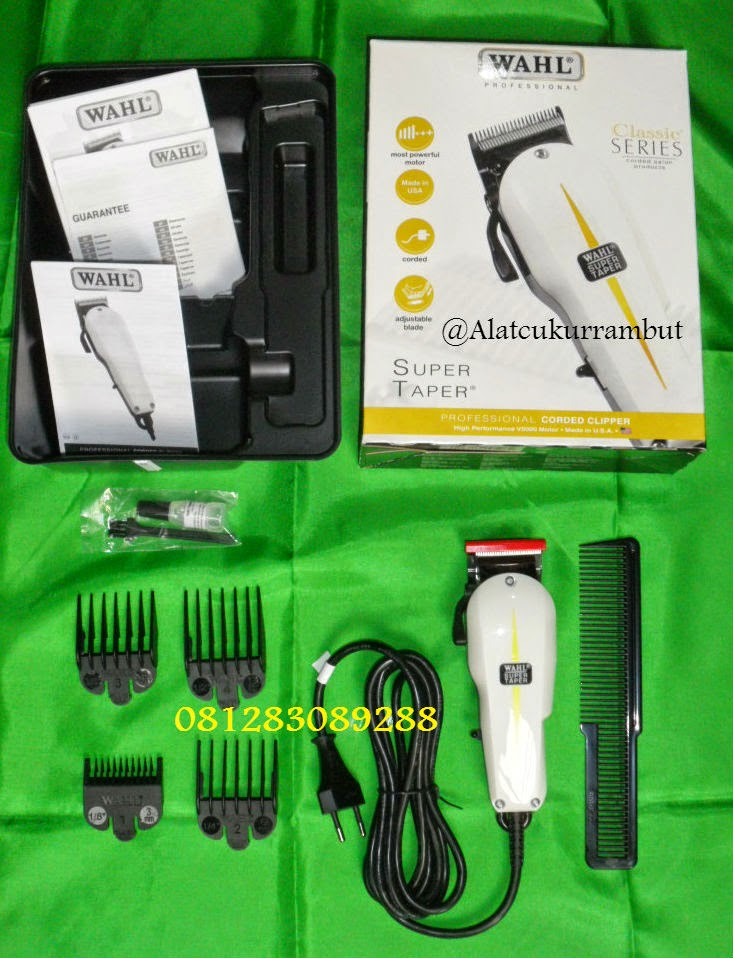 hair clipper wahl super taper adalah alat cukur terbaik made in USA