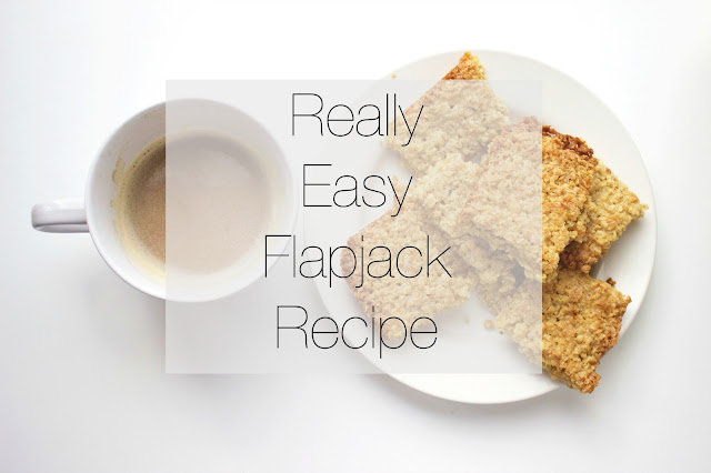 Flapjack Recipe, Really easy food, Student food, baking,