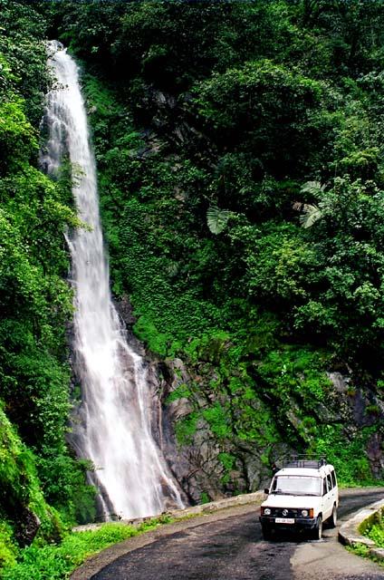 waterfall himalayas arunachal pradesh india