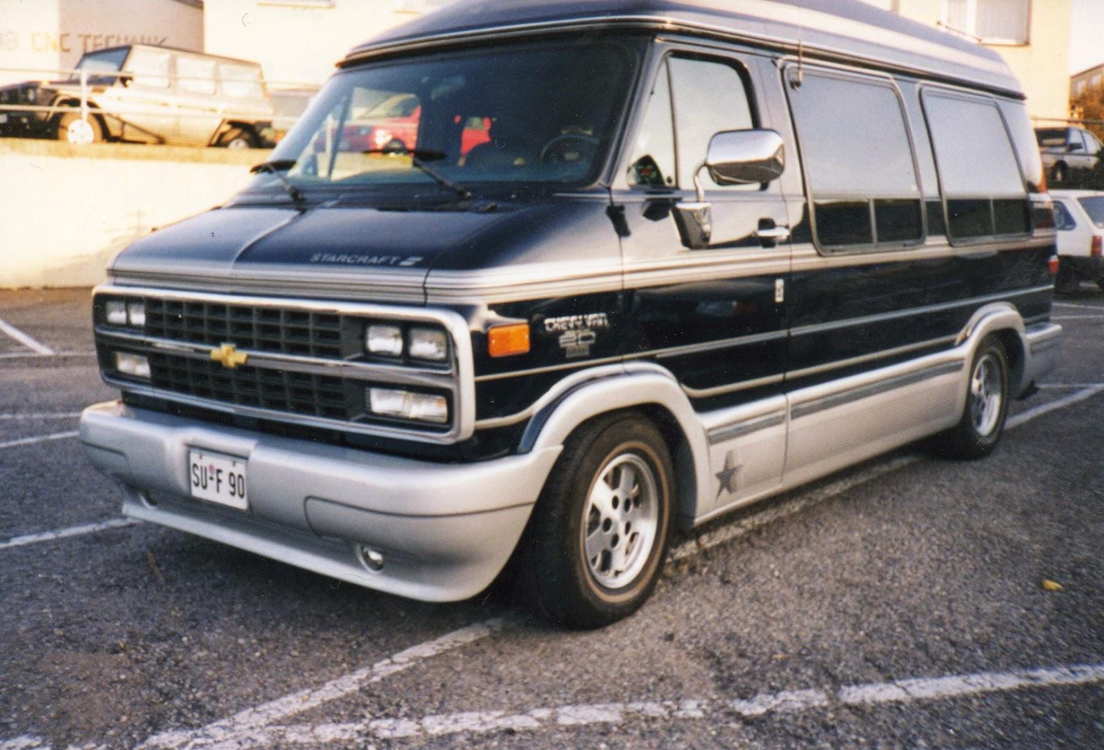 1992-1996 Chevrolet Van G20 Starcraft, Germany   SPOT A CAR