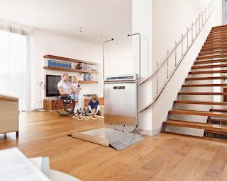 Platforma schodowa dla niepełnosprawnych Ascendor PLK8