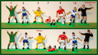 Anniversary House; Cake Decoration Figures; Cake Decorations; Carded Toy; Football; Football Association; Football Game; Football Players; Knightsbridge PME Ltd.; Players; PME Cake Decorations; PME Footballers; PME Soccer Players; Small Scale World; smallscaleworld.blogspot.com; Soccer; Soccer Football; Soccer Player Toys; Soccer Players; Wilton's;