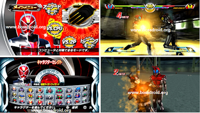 Kamen Rider Chou Climax Heroes ISO PSP Games Android