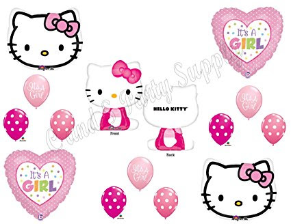 Why is Hello Kitty Baby Shower Decorations Popular?