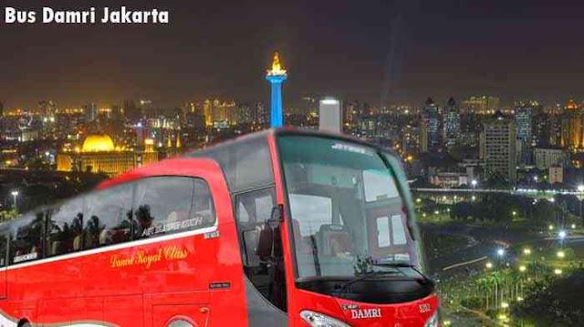 Bus Damri Jakarta