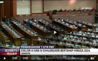Penjelasan Resmi Presiden Joko Widodo Soal Rasionalisasi 1 Juta PNS