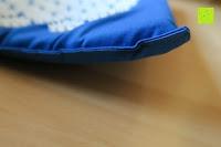 Matte uneben: High Pulse Akupressur-Set - Akupressurmatte & Akupressurkissen für eine einfache und wirksame Behandlung von Schmerzen und Verspannungen am ganzen Körper. (Blau)