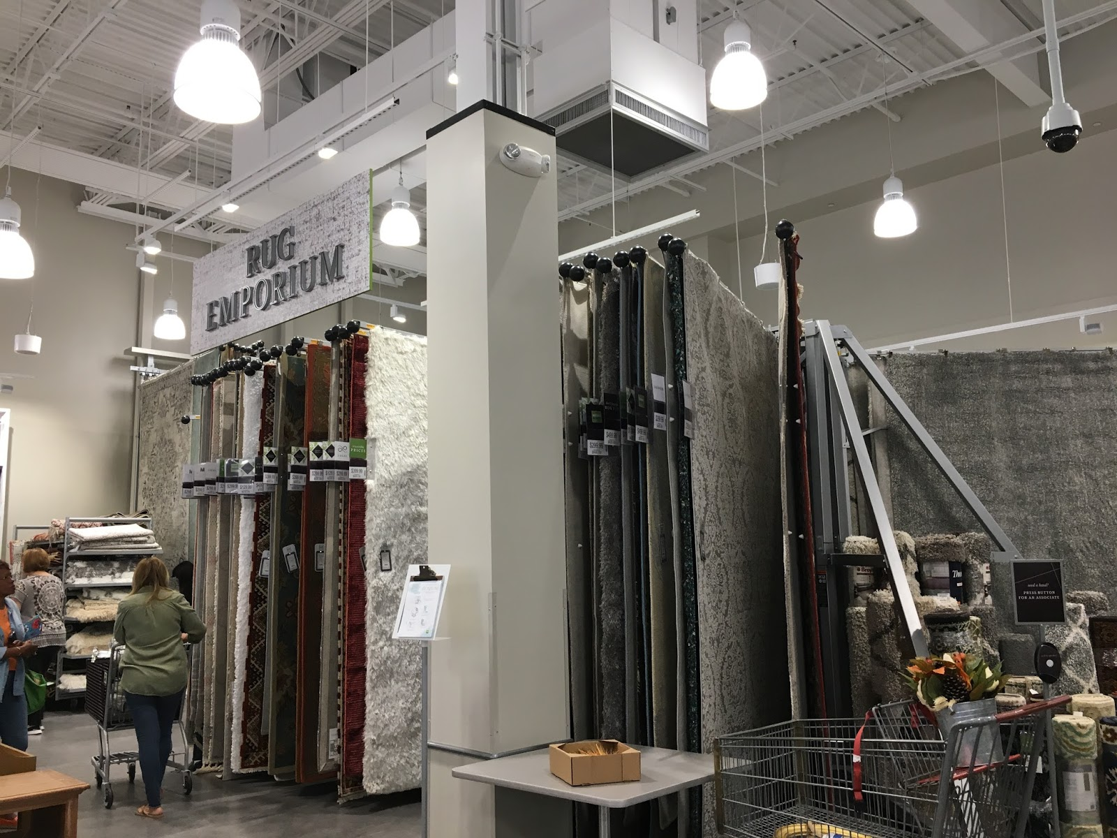A peek inside a new homesense store calypso in the country rug emporium geotapseo Choice Image