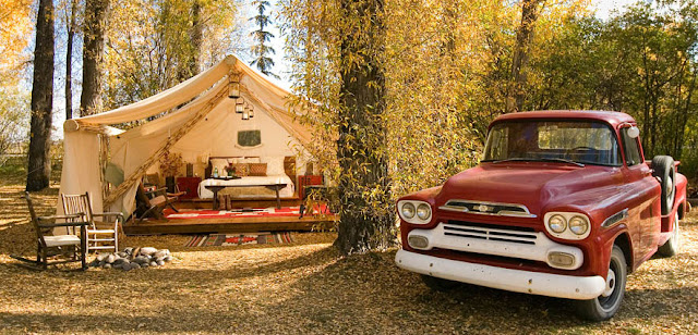 luxury camping in jackson hole