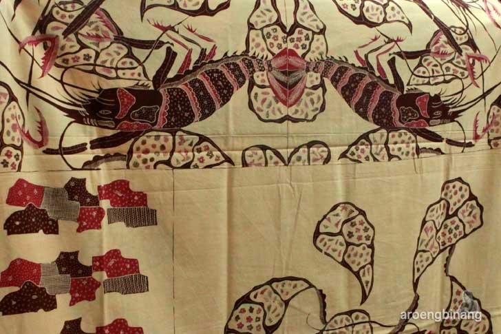 batik trusmi motif udang cirebon jaya abadi