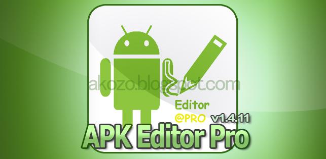 Download Gratis APK Editor Pro Full Version Terbaru