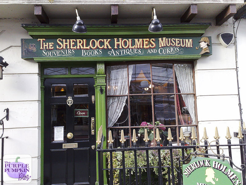 The Sherlock Holmes Museum, London [#MuseumWeek]