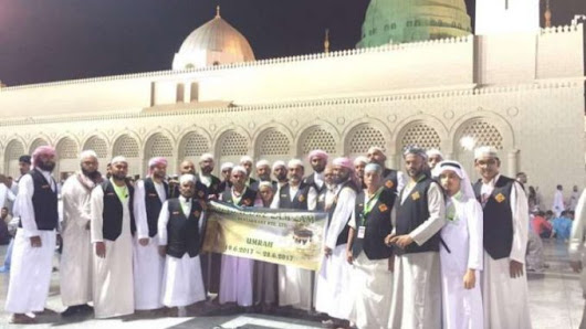 A restaurant owner in Singapore takes his 27 employees for Umrah free of cost