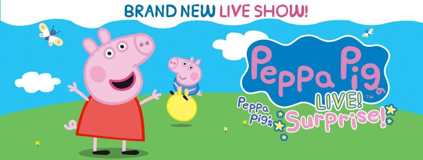 Peppa Pig S Surprise Is Coming To New Jersey Peppa Pig Live Tour